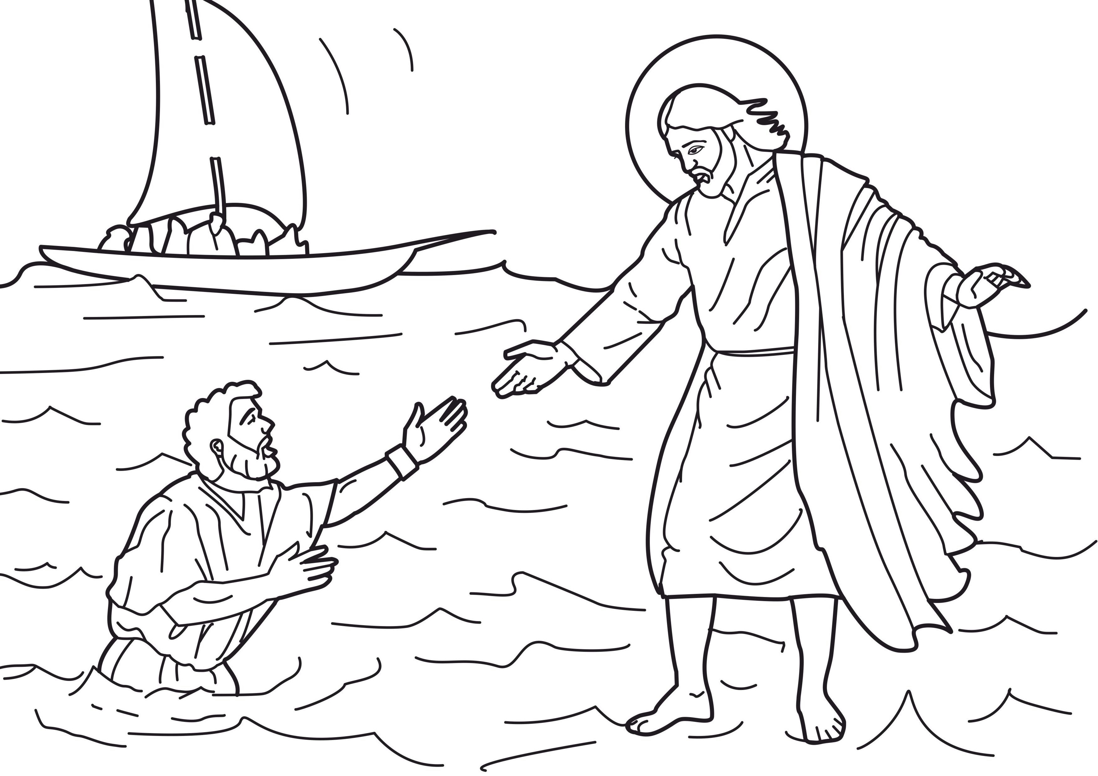 2014 VBS Coloring Pages | Free Printable Jesus Coloring Pages For ...
