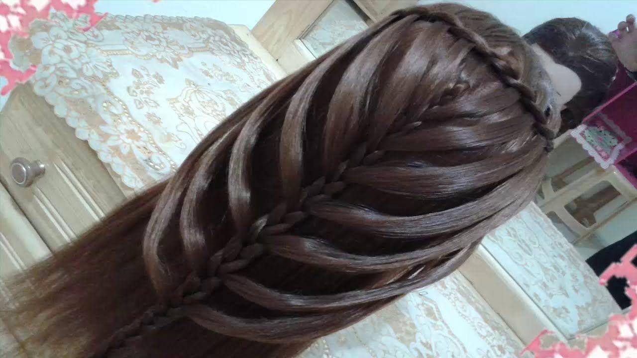Peinados Sencillos Faciles Para Cabello Largo Bonitos Y Rapidos Con Tren Cabello Largo Bonito Trenzas Para El Cabello Peinados Sencillos