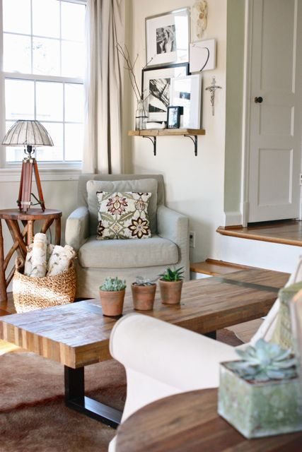 From Apartment Therapy - we want to read our Book Club book in this ...