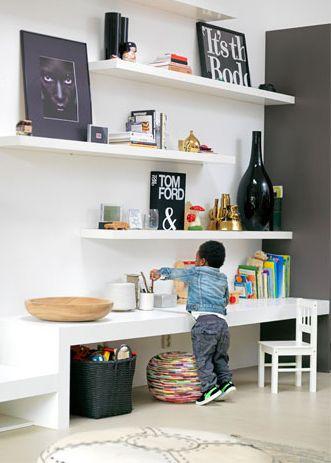 Tips voor een speelhoek in de woonkamer | Speelgoed opbergen ...