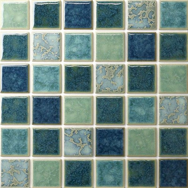 Extraordinary Matching Old Pool Tiles Ceramic With Sea Breeze Color On Stack Bond Tile Pattern