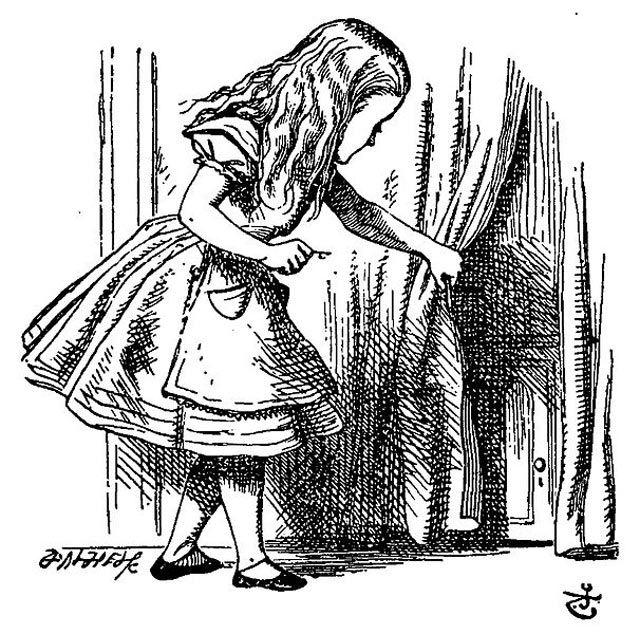 Confira 14 Ilustracoes Originais Do Livro Alice No Pais Das