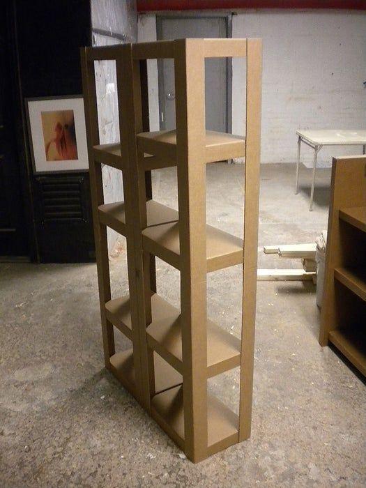 Easy Cardboard Shelves #cardboardshelves Cardboard Shelves #cardboardshelves