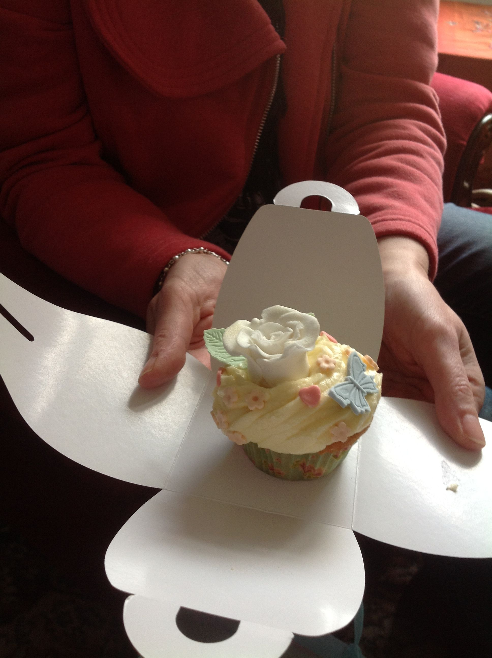 Mother's Day cupcake for my mam