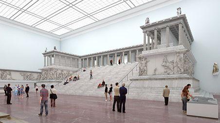 Pergamon Altar Berlin Under Construction Untill 2019 Ancient Architecture Pergamon Museum Pergamon