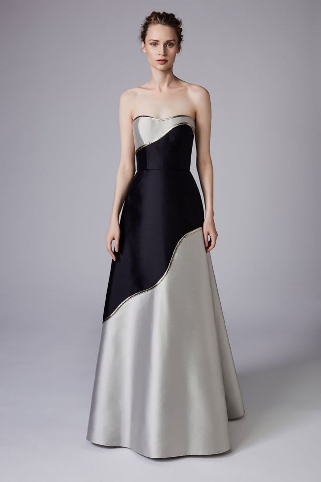 Reem Acra Resort 2018 Collection | Tom + Lorenzo | Gorgeous Gowns ...