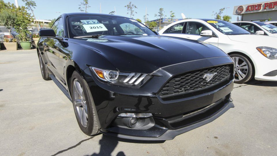 2015 Ford Mustang Black Ford Mustang Car 2015 Ford Mustang