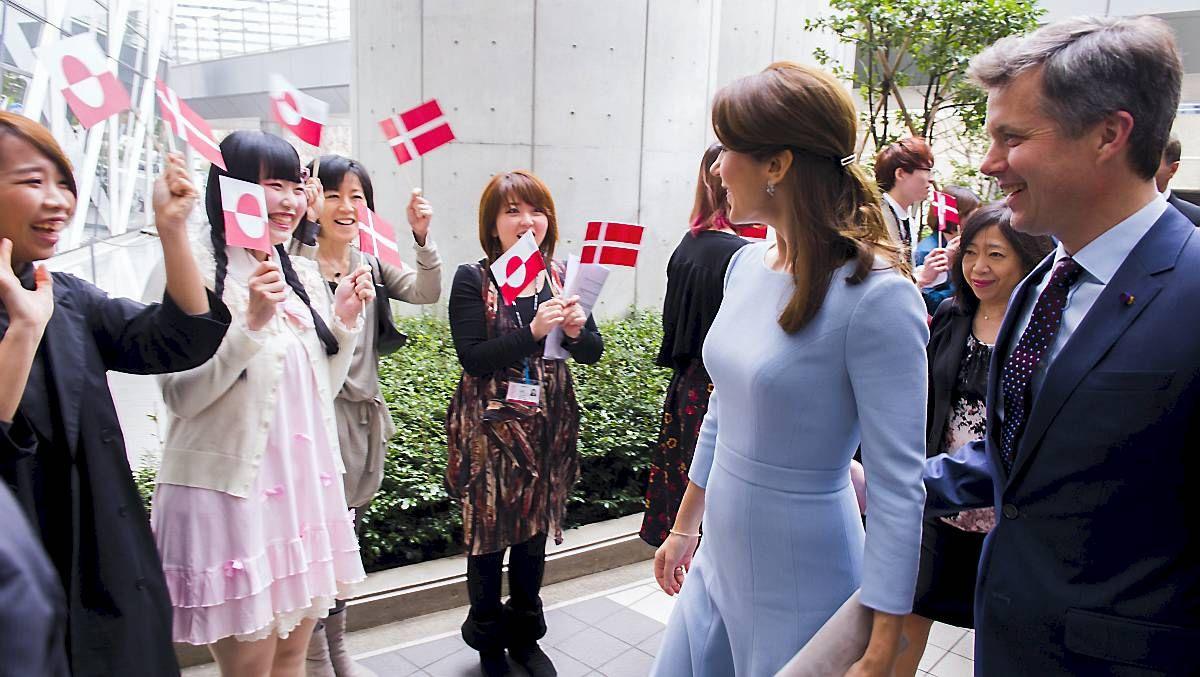 Japansk Overraskelse Til Frederik Og Mary Billeder Danmark Japansk