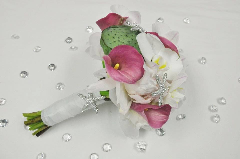 Wedding Bouquet, By DEMCO Florist Bermuda. Photo by Tori Lindo