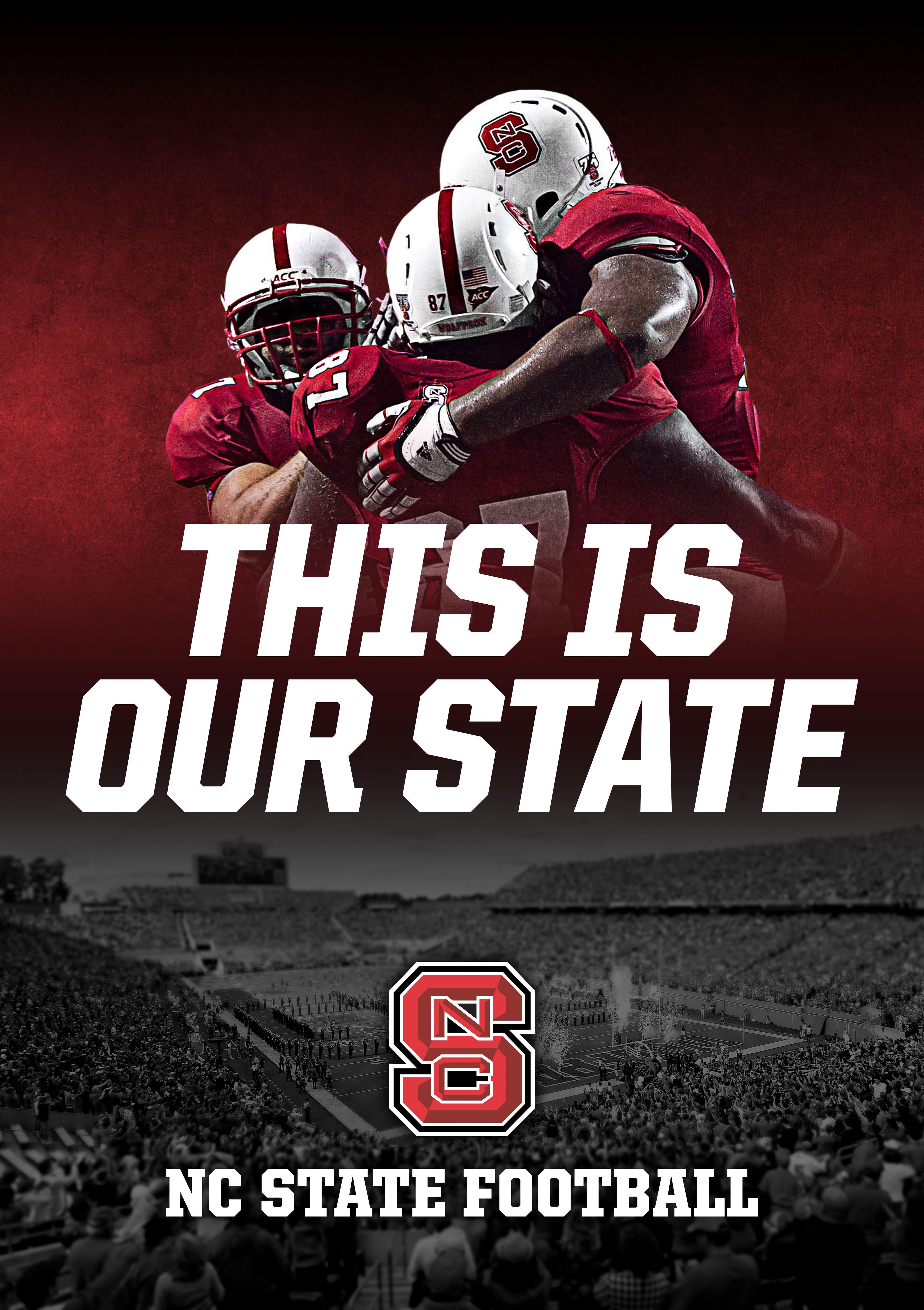 Football stadium banner nc state football nc state nc