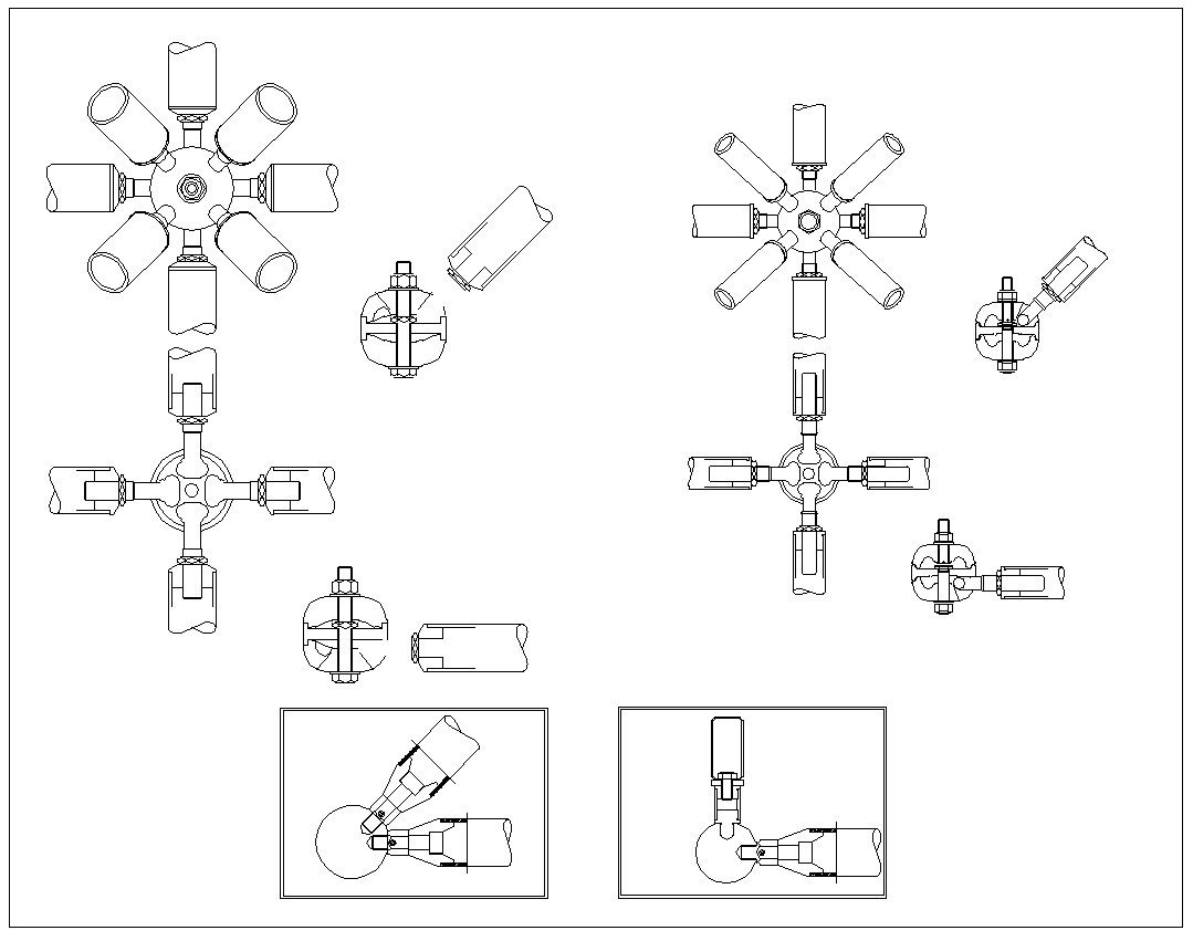 Architectural Drawing Borders steel structure details 1 | download cad blocks,drawings,details