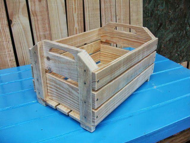 caixotes de madeira - Pesquisa Google