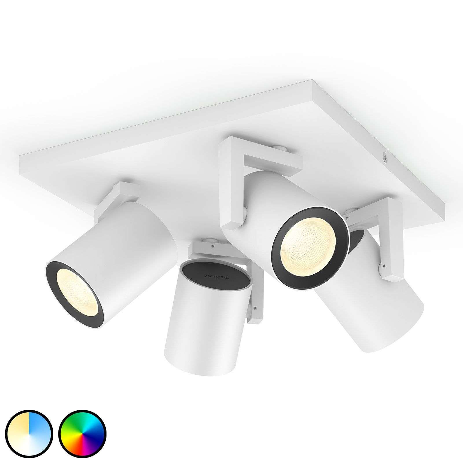Philips Hue Argenta Led Spot Vierflammig In 2020 Led Led Lamp Lampen