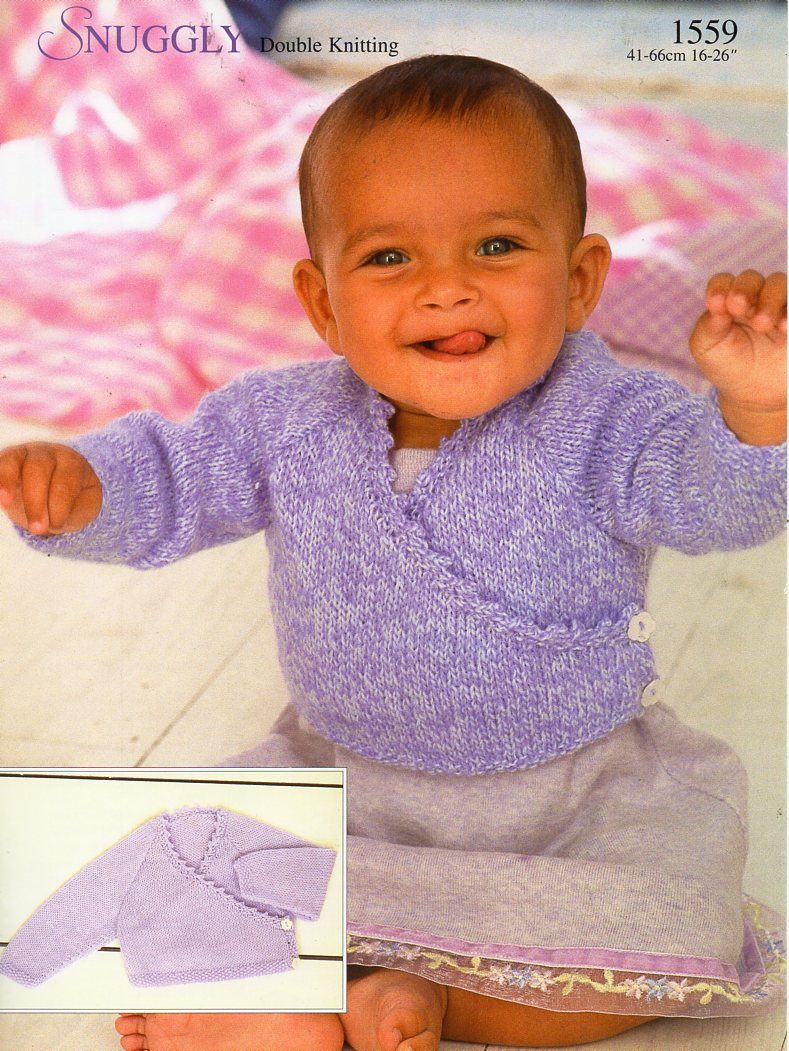 Baby childrens knitting pattern pdf baby crossover cardigan girls baby childrens knitting pattern pdf baby crossover cardigan girls cross over jacket 16 26 bankloansurffo Image collections