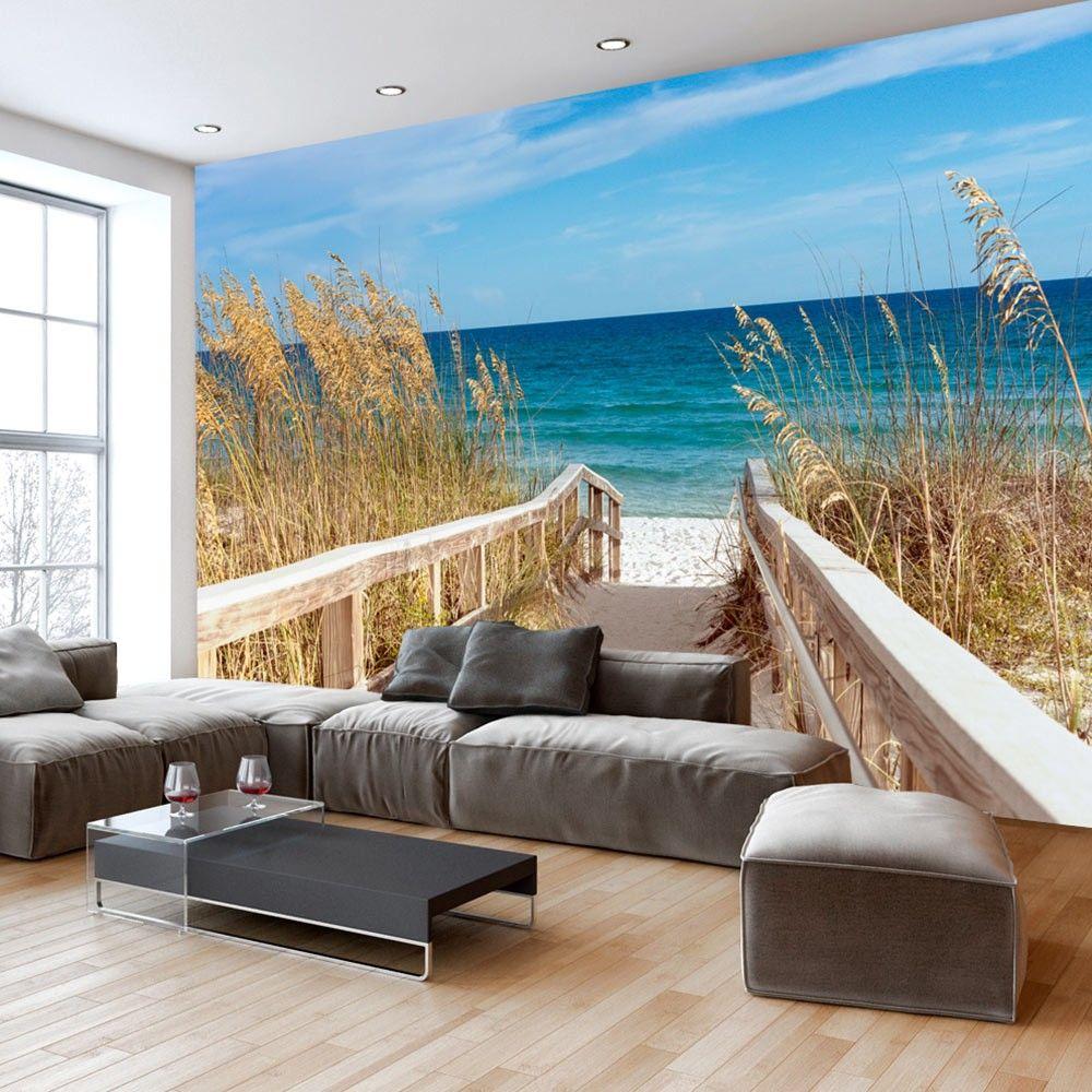 wallpaper summer at the seaside 3d wallpaper murals uk in ...