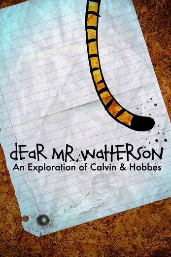 Dear Mr. Watterson - Joel Allen Schroeder | Documentary...: Dear Mr. Watterson - Joel Allen Schroeder | Documentary |712363237 #Documentary