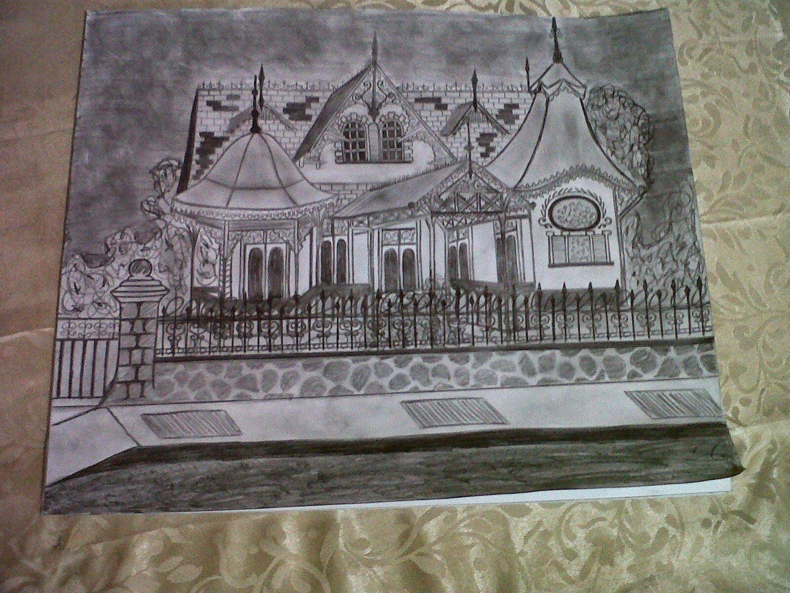 Artful Trini: Gingerbread House ,Queen's Park Savannah