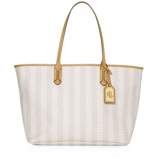 Lauren Ralph Lauren Boswell Classic Tote ( 198) ❤ liked on Polyvore  featuring bags e9a4ece126b6c