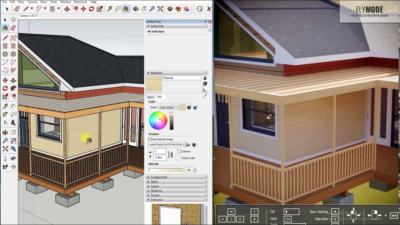 Enscape Render Live aync in Sketchup | Enscape render in sketchup