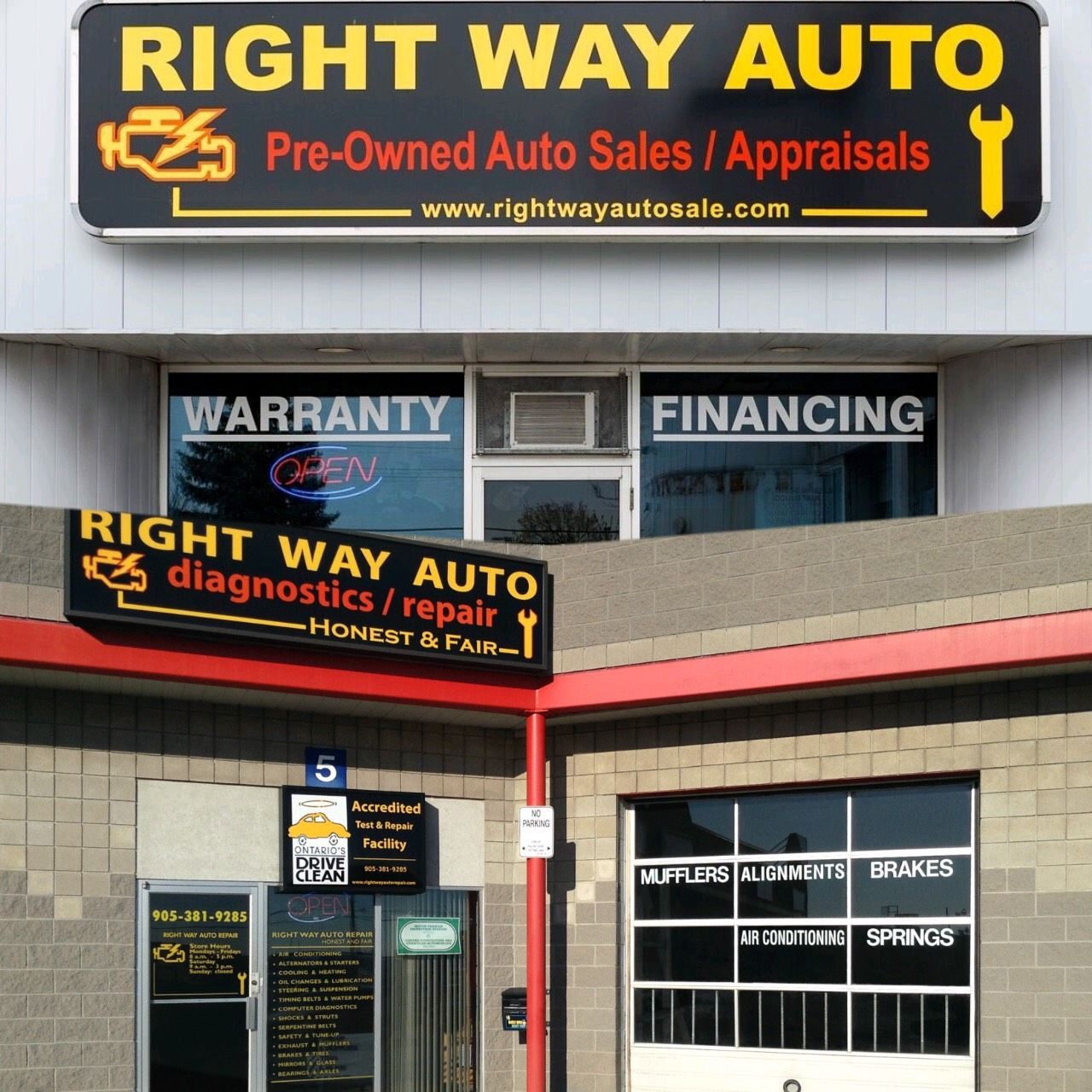 Rightway Auto Sales >> We Are Ready To Serve You In 2017 Right Way Auto Repair