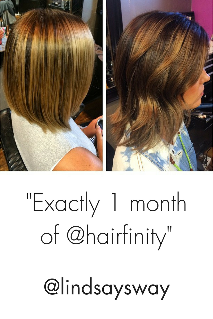 Exactly 1 Month Of Hairfinity Lindsaysway Vitamins For Healthy Hair Hair Growth Tips Hairfinity