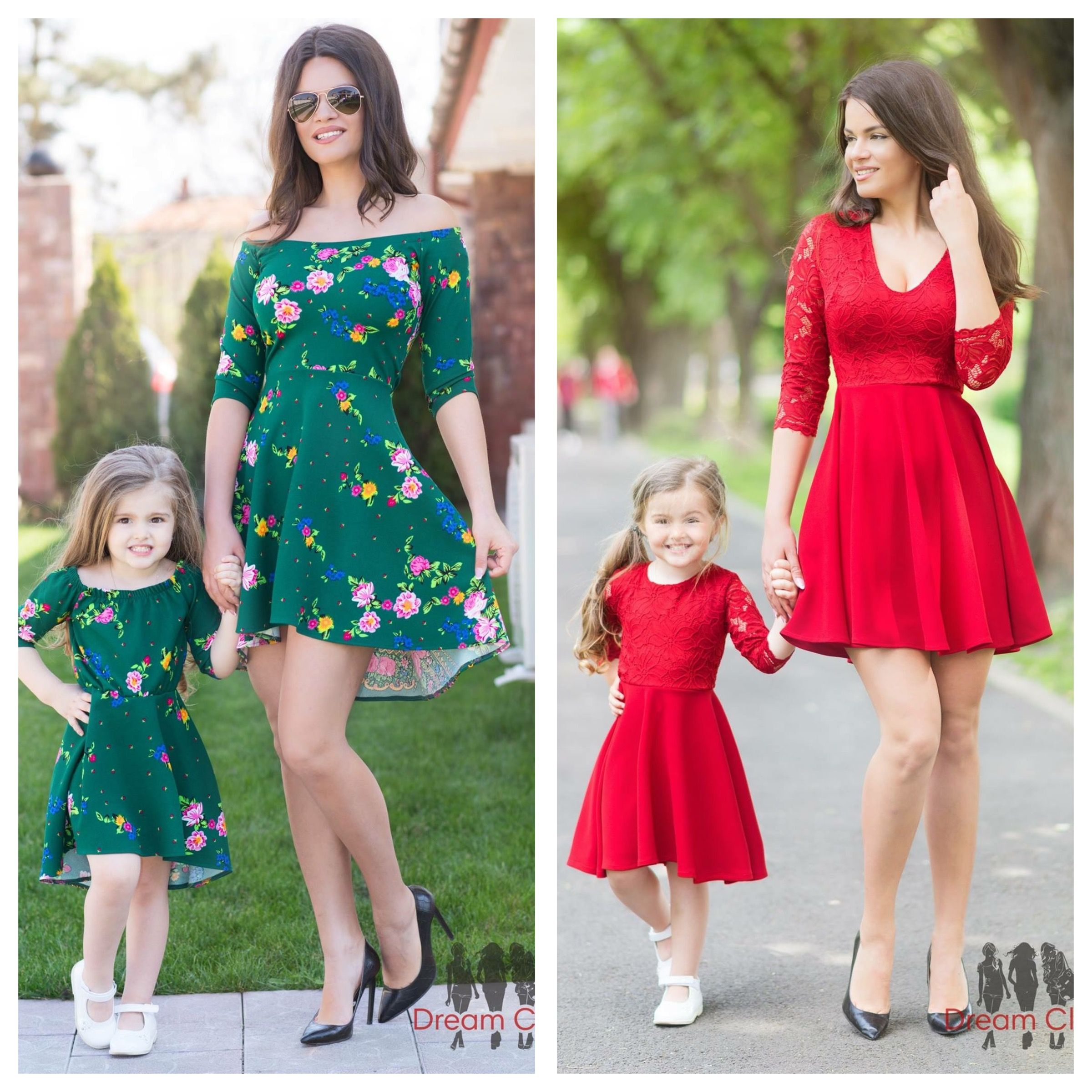Mother Daughter Dresses , Mother Daughter Outfits , Mother Daughter