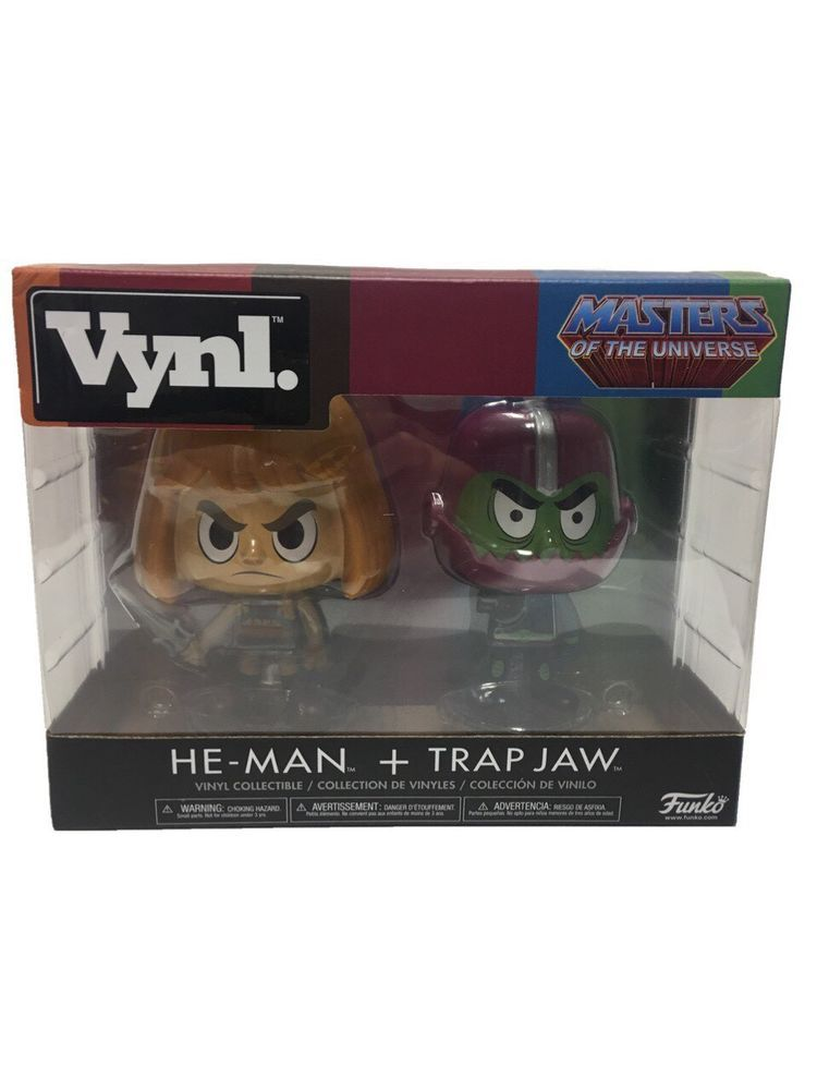 Master of the Universe HE-MAN FUNKO VYNL TRAP JAW