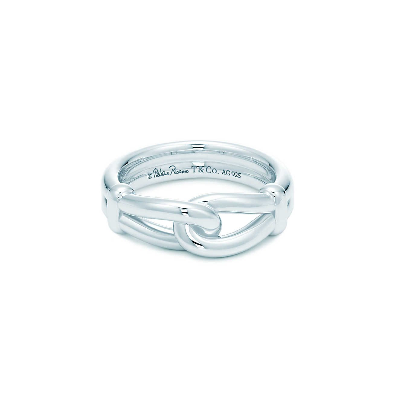 Paloma Picasso® Knot ring in sterling silver.