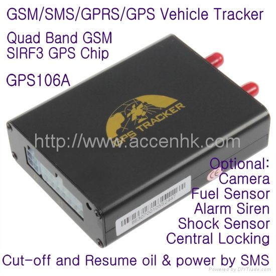 GPS106 Car Auto Taxi Truck Fleet GPS Tracker W Photo Snapshot