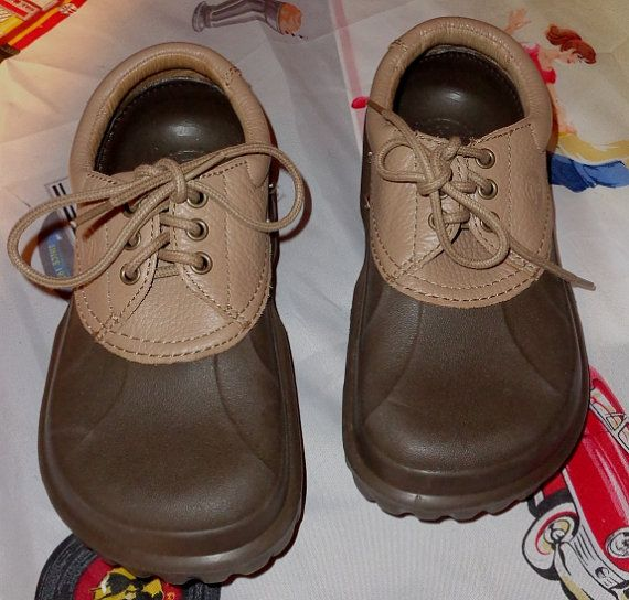 New CROCs ISLANDER SPORT All Terrain Leather by momspinkelephant1   Crocs, Leather, Baby shoes