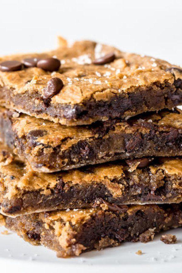 Blondies: vegan, kalorienarm, glutenfrei - die gesunden Brownies Blondies: vegan, kalorienarm, glut