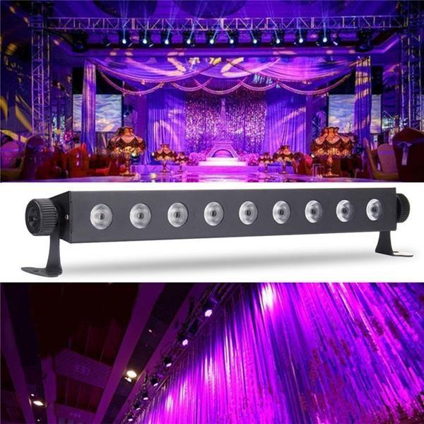 US$39.63 ~ US$40.13] 9x3W UV LED Bar Light Blacklight DJ Club Party ...