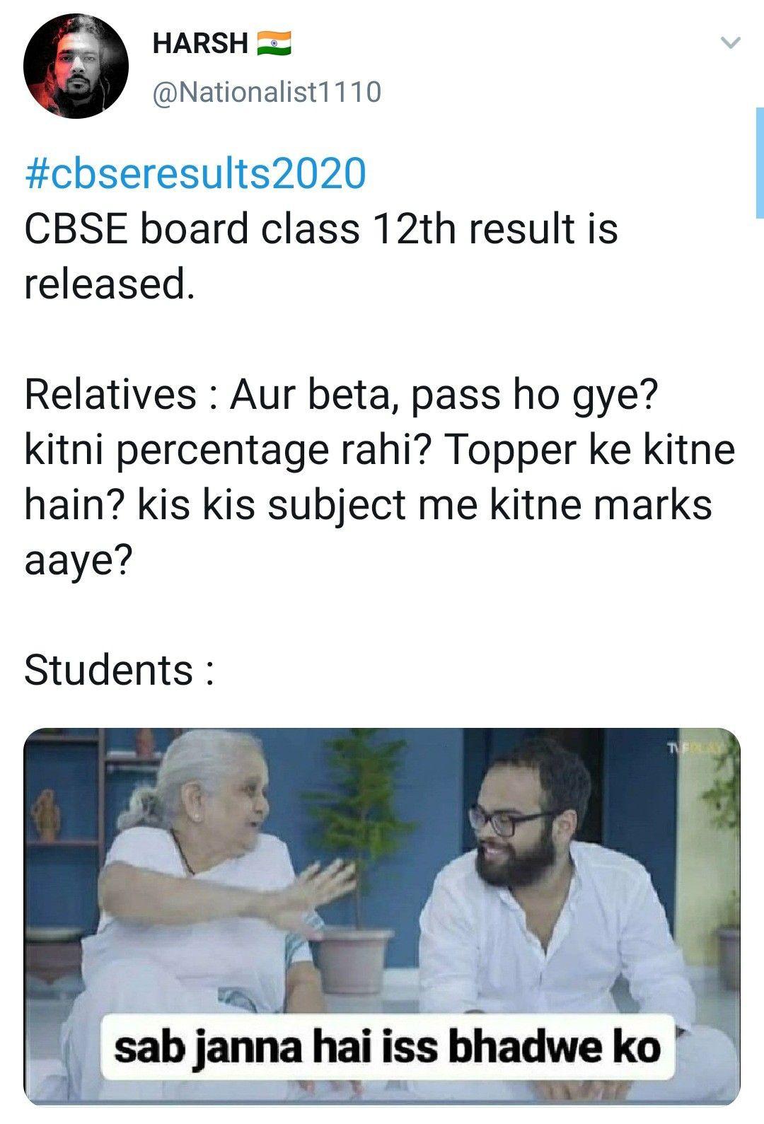 School Meme Cbse Result Meme Class 12th Funny Memes Funny Indian Memes Hindi Memes Funny Memes School Memes Karen Memes