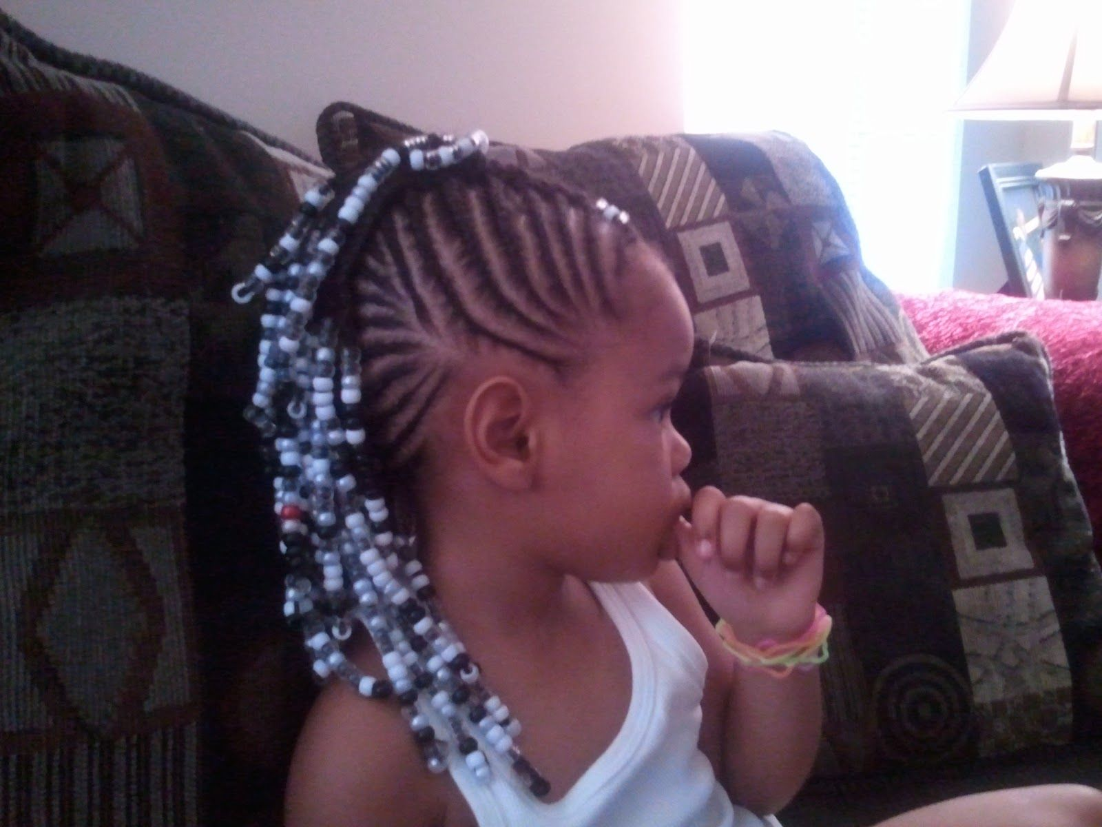 Magnificent 1000 Images About Braids With Beads On Pinterest Cornrows Short Hairstyles For Black Women Fulllsitofus