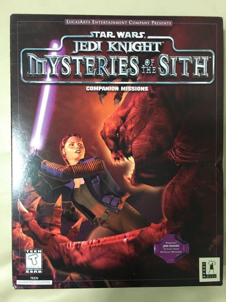 Jedi Knight Mysteries Of The Sith Star Wars Jedi Star Wars