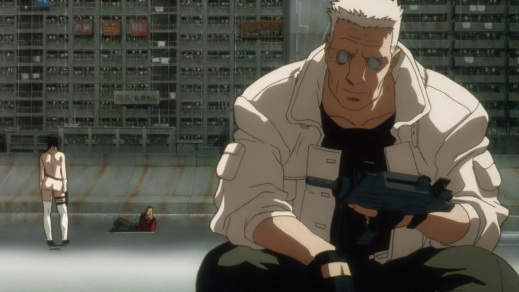 Batou Ghost in the Shell