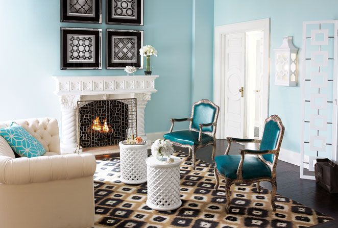 Explore Turquoise Living Rooms And More