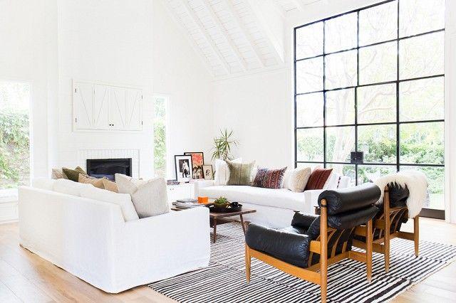 Woonkamer: een zwart wit interieur - Makeover.nl | ✚ VINTAGE ...
