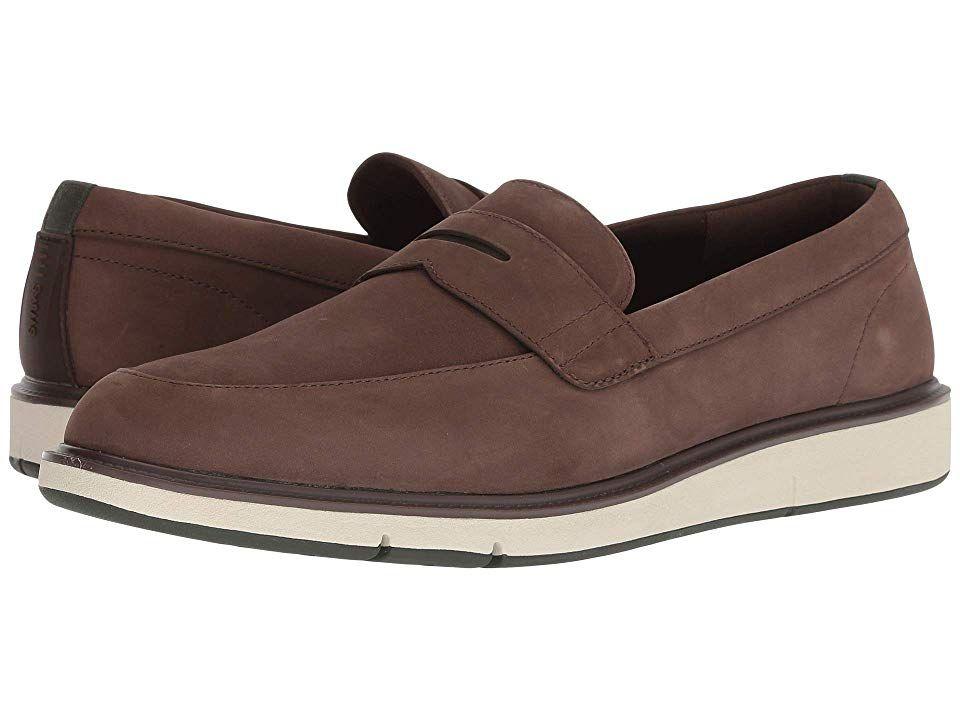 5b0d0ee8faf SWIMS Motion Penny Loafer (Brown Olive) Men s Shoes. Slide through the  workweek