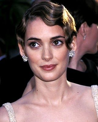 Winona Ryder With Flapper Hair Fashion Beauty Style Pinterest
