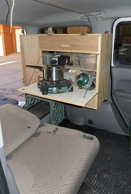 Diy Camper Kitchen Office Honda Element Owners Club