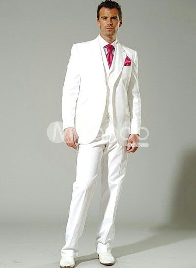 White Gold Wedding Tux Rest Of Guys And Little Version For Rb