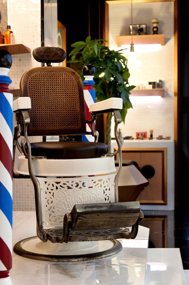 Barber shop concept chair for durstone cevisama 2013 for Barber shop interior designs ideas