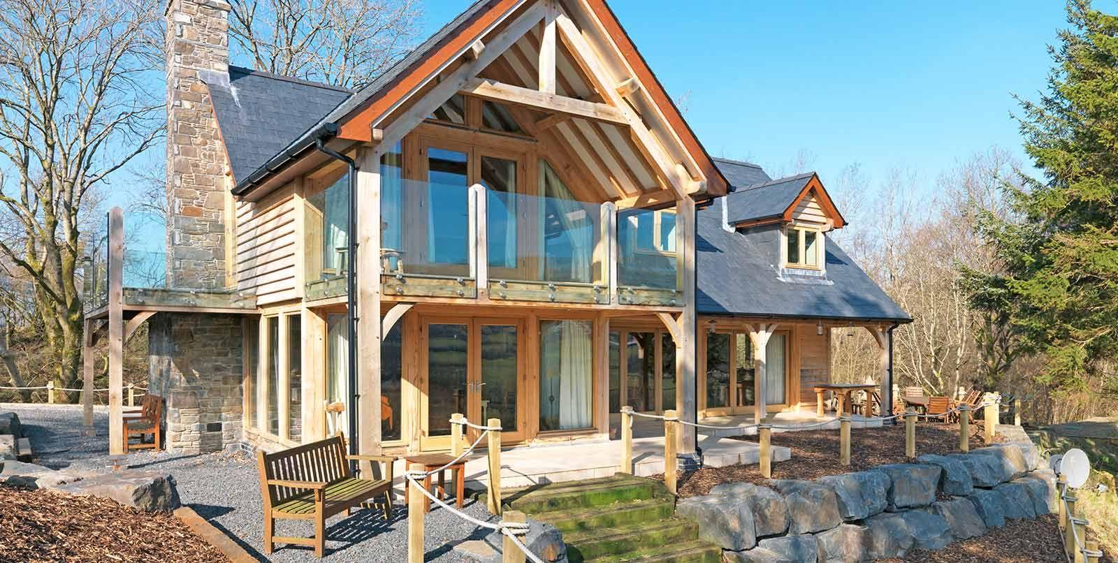 Bespoke oak frame homes | Mansions | Pinterest | Bespoke, House and ...