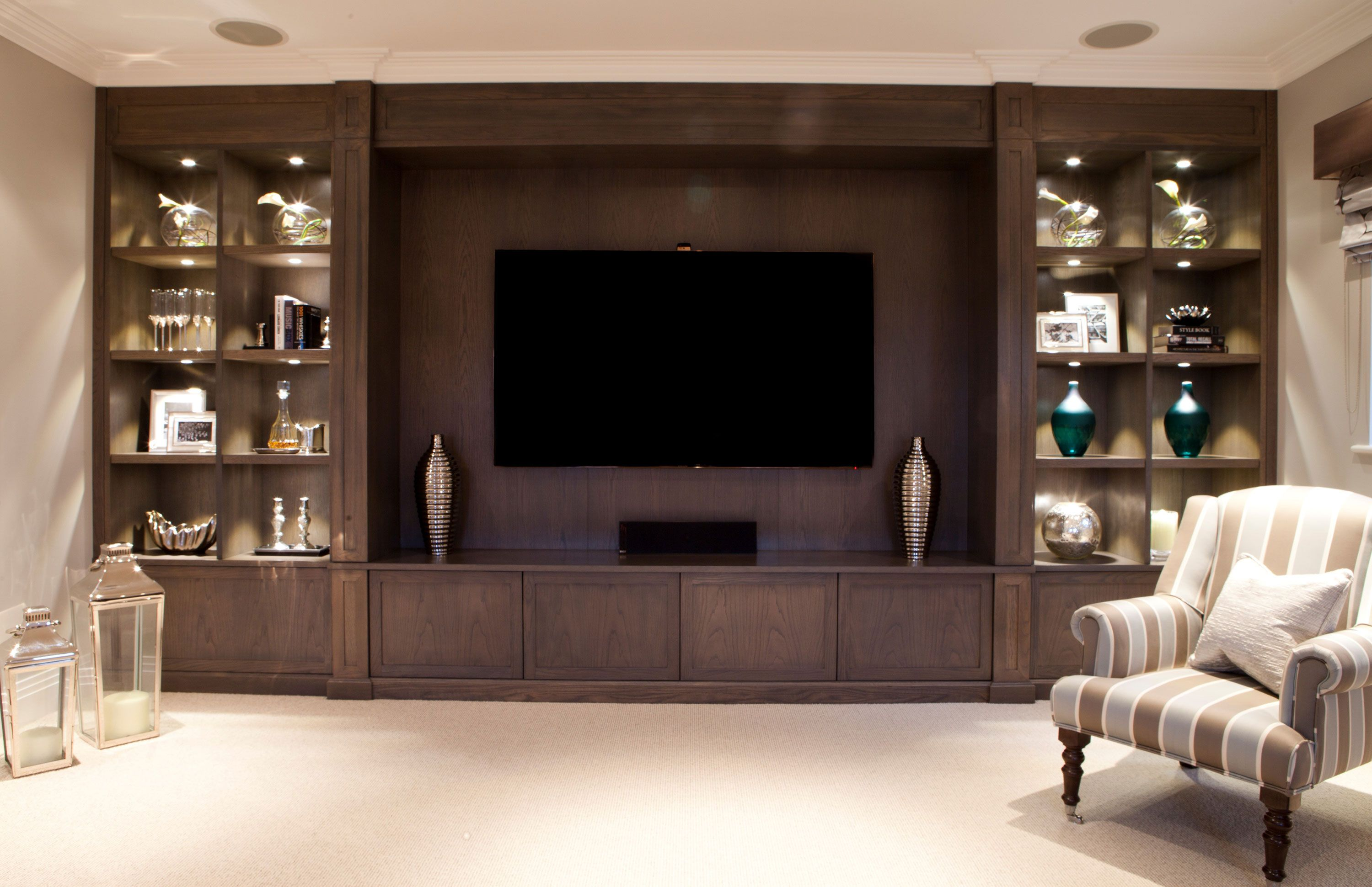 This family home required bespoke fitted furniture in multiple