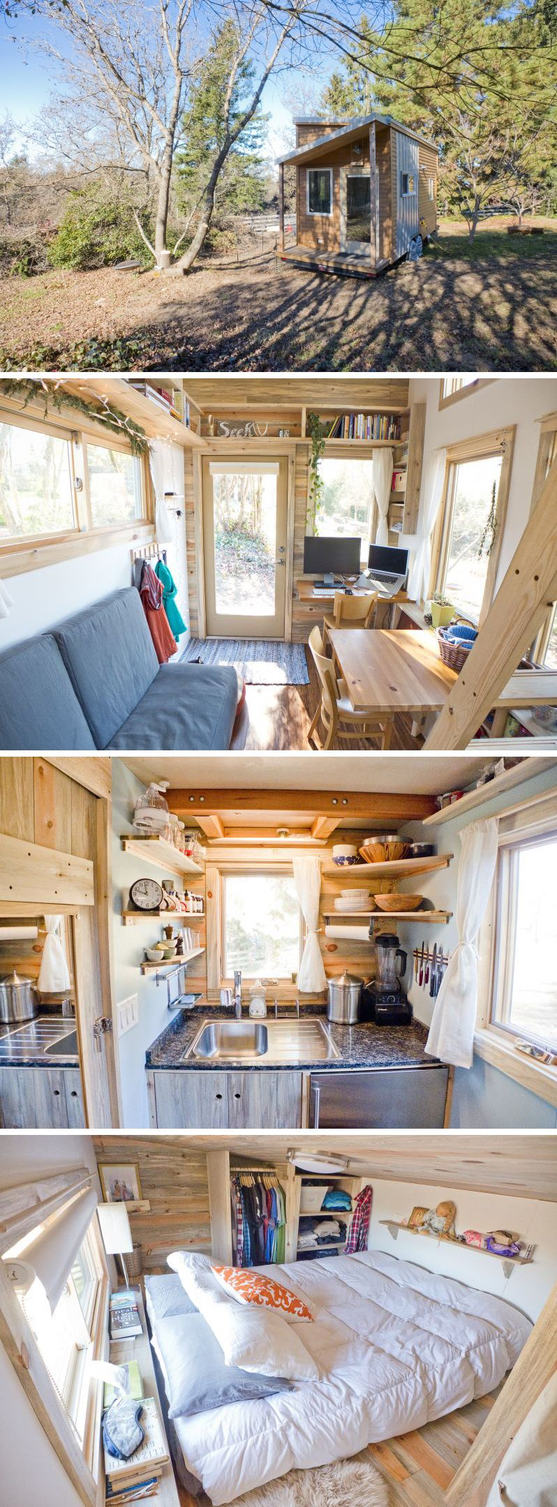 Pin by Op Pang on Home | Pinterest | Tiny houses, Small living and ...