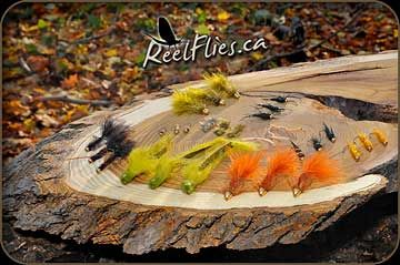 30 Carp Fly Selection from Reelflies