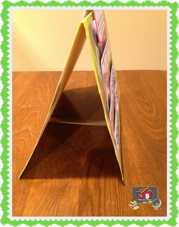 Make Your Own Table Top Pocket Chart Pocket Chart Special Education Classroom Organization Fun Homeschool
