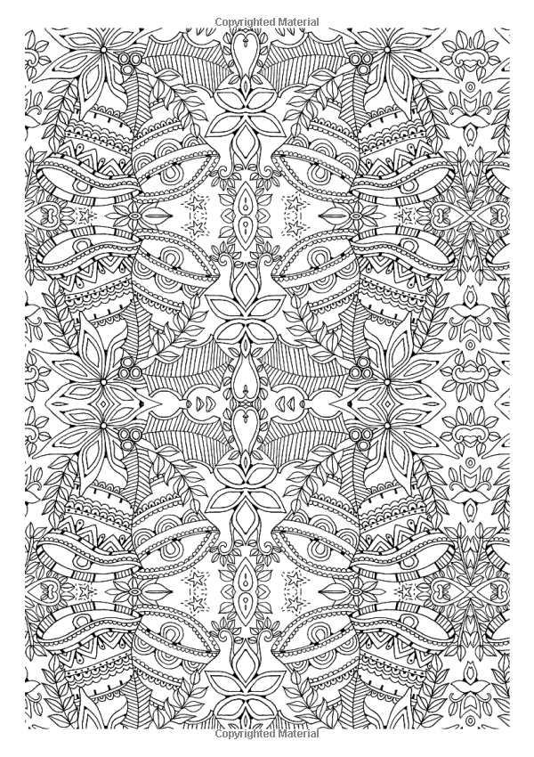Christmas Patterns: Creative Colouring for Grown-ups / Various Authors and Illustrators / Amazon.co.uk