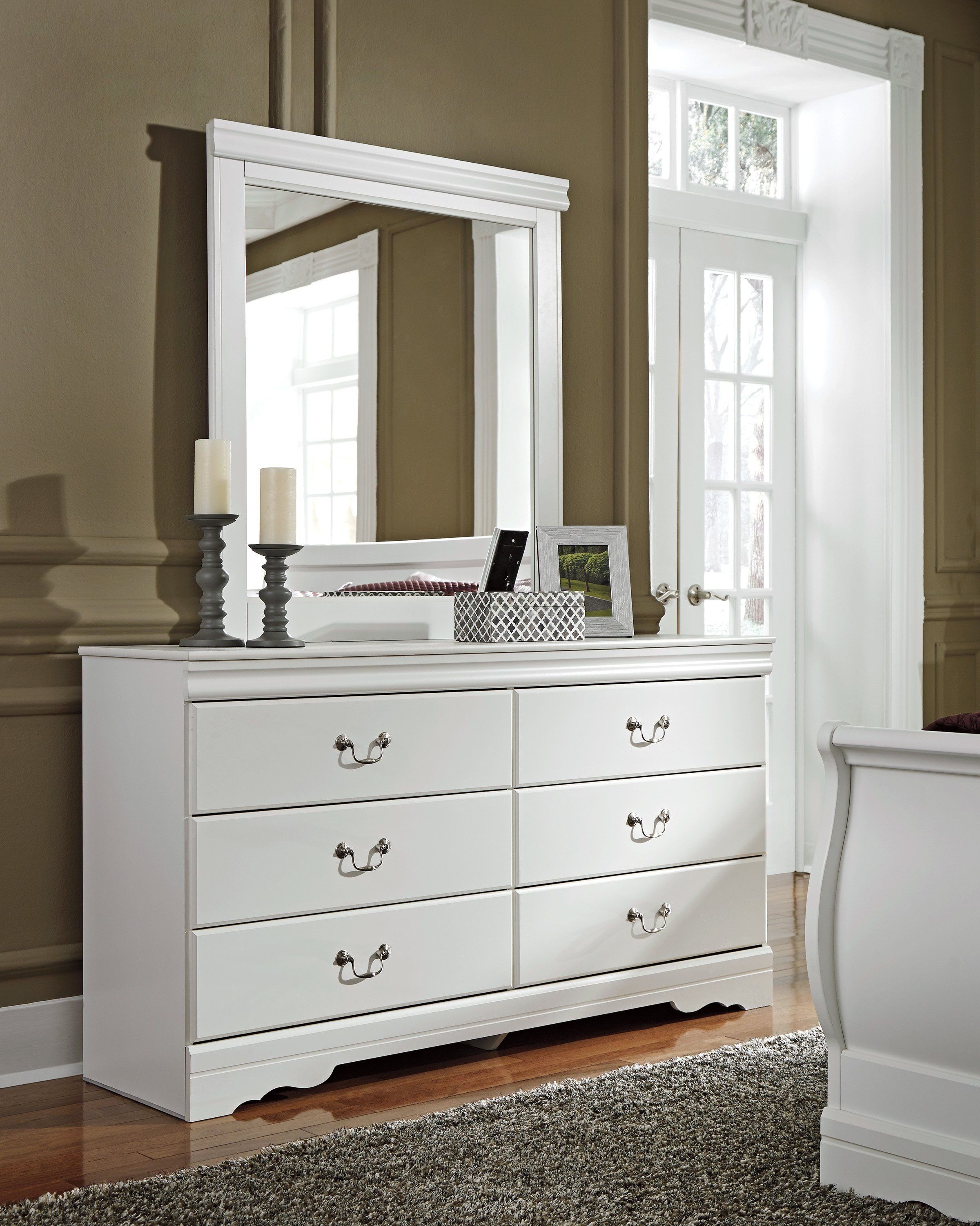 Best Signature Design By Ashley Anarasia White Dresser And 400 x 300